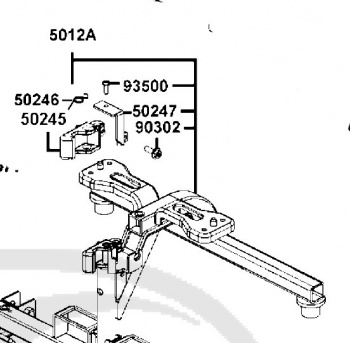 New Rear Chassis Assembly For A Kymco Mini EQ20CN Mobility