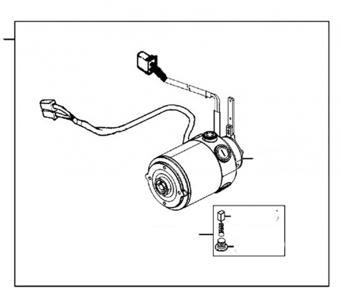 New Motor Assembly For A Kymco Midi XL EQ35BA Mobility