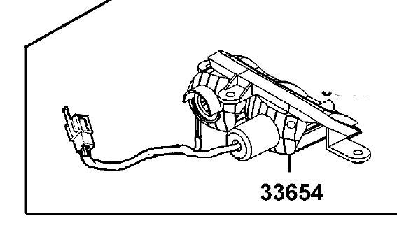 New Rear LH Indicator Blinker Base Only For Kymco Strider