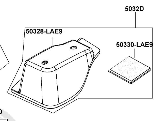 New Battery Case Lid Assembly RH For A Strider EV10ED