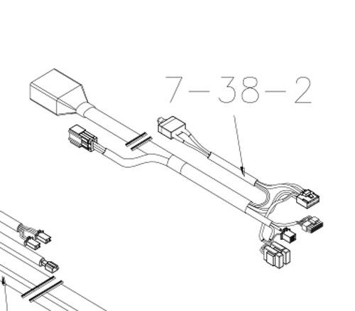 New Rear Wire Harness Loom Drive Viper ML4SB Panther