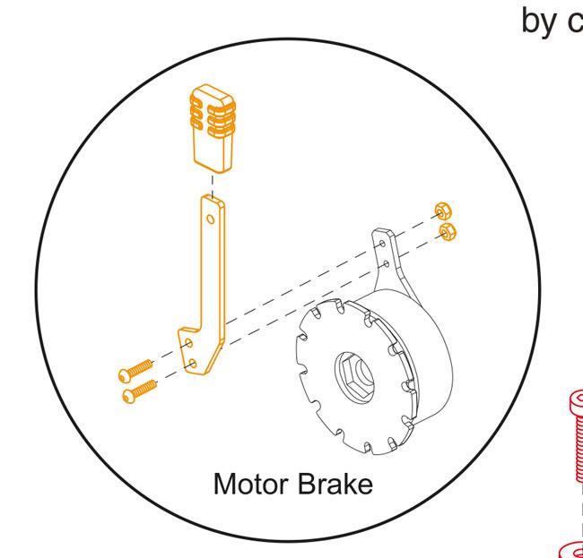 New Brake Lever For A Pride GoGo Elite Traveller Mobility