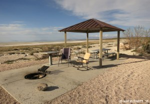 """View of typical """"sitting area"""". This is our site #2"""