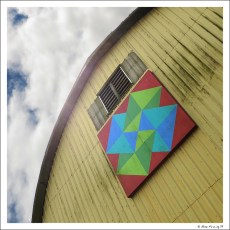 One of the many cool barns on the Quilt Tour