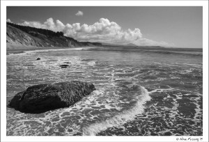 The beauty of waves and rocks