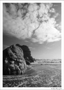 Fine clouds at Harris State Beach