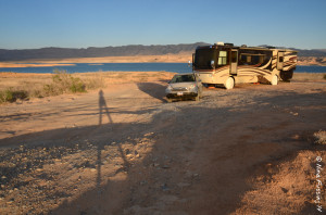 Our sweet new site on Northern Lake Mead, NV
