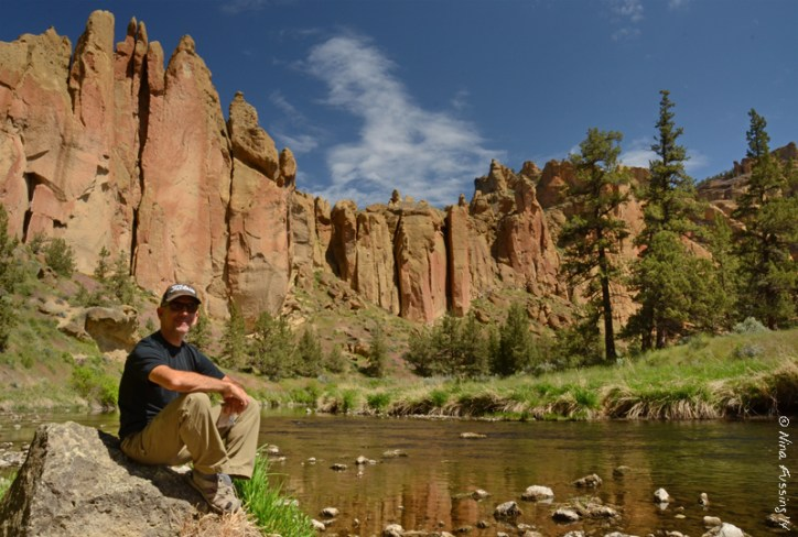 Lovely Smith Rock State Park...totally unexpected!