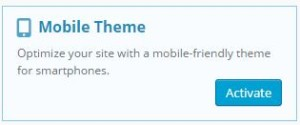 The Jetpack Mobile Theme