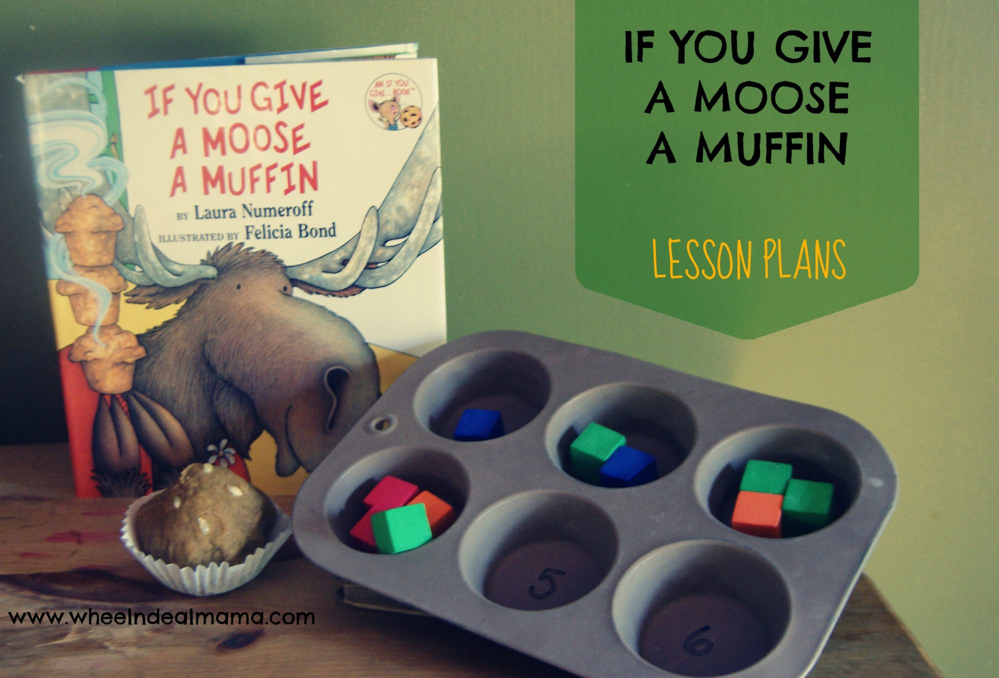 If You Give A Moose A Muffin Lesson Plans