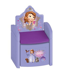 Disney Princess Sofia the First Sit 'N' Store Chair as low ...