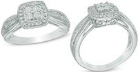 Zales Diamond Accent Sterling Silver Promise Ring $25.99 ...