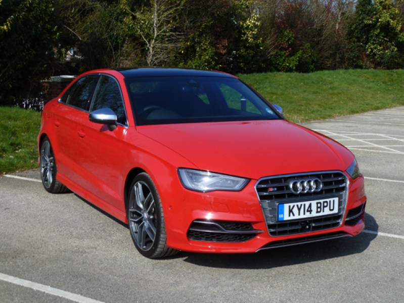 A purposeful stance hints at the S3 saloon's potential. The test car I drove delivered scintillating dynamic performance, courtesy of its 2.0 TFSI engine and Audi's quattro four wheel drive system.