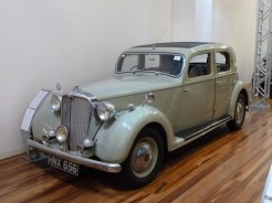Rovers have long featured in the history of Birmingham; company advertising stated, 'One of Britain's Fine Cars'. This beauty is in the museum.