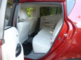 Rear seat occupants benefit from wide-opening doors, good leg and head room, and comfortable seats.