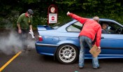 Noise tests are mandatory… The car must pass to be able to take part.