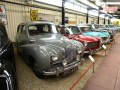 'Everyday' classics are not ignored at Sparkford; this line-up incorporates many 'family' cars of the 1950s/60s.
