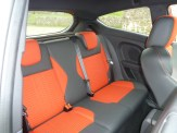 Leg and head room in the rear seats is better than might be imagined from a first glance.