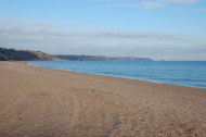 The day we visited Slapton Sands (in fact a pebbly beach), could not have been more tranquil. However, this beach was the scene of preparations for the Normandy landings in 1944, and tragedy in April that year (please see main text).