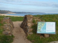 Today Slapton Ley is a national nature reserve, with a variety of walks and trails in the vicinity. The sea views from this point are spectacular too. The shingle ridge near the village of Torcross accommodates rare and important plants.