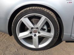 Smart, easy-to clean five spoke sports wheels were fitted to the Sport Tech variant we drove.