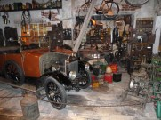 Whenever I visit the National Motor Museum, I enjoy returning to look closely around the recreated garage workshop set up within the museum. Incorporating vehicles, tools and artefacts of all descriptions depicting how garages looked back in the 1930s, it is a wonderful place to spend some time!