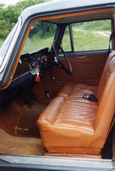 Leather-trimmed seats came as standard – impressive for a mass-produced family car.