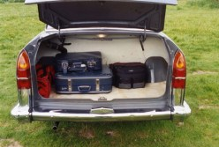 Plenty of room! The boots on the saloons can swallow a vast amount of luggage, and open from bumper height. The estates are even more practical.
