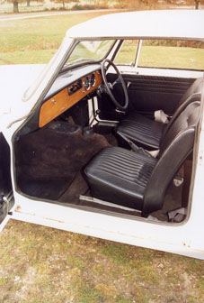 Comfortable seats in Triumph's smallest model were more classy than in many 'budget' rivals.