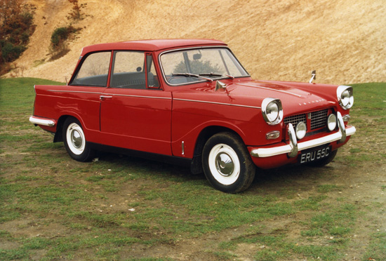 The Herald's angular styling, which still looks good over 50 years down the line, was a hallmark of this distinctive model.