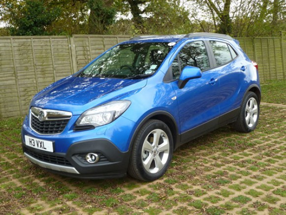 The new Vauxhall Mokka is strikingly styled and comes as standard with 18 inch sports wheels.