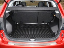 The load compartment is roomy and flat-floored, and there's a two-thirds:one-third split folding seat arrangement.
