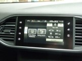 The state-of-the-art dashboard incorporates a multi-function display screen; in this shot indicating computer 'trip' information, average mpg and speed, etc.