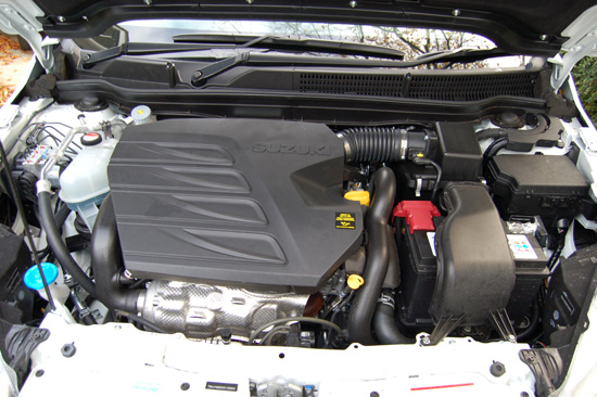 Beneath the plastic cover sits a strong-performing, refined and economical 1.6 litre turbo diesel engine, featuring a Variable Geometry Turbocharger.