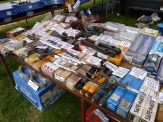 An ideal stall to go shopping for mechanical components; well-laid out, also unmistakably labelled and priced.