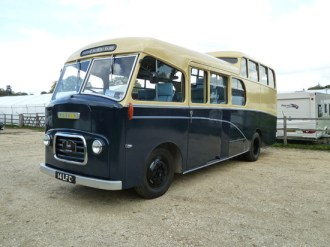 This is the actual bus used by Morris Motors band; wonderful!
