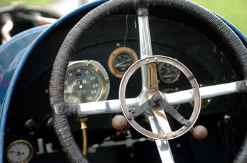 Sunbeam cockpit