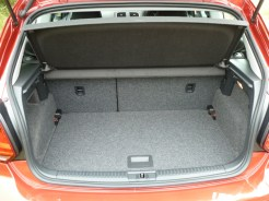 The roomy load compartment accommodates a good deal of luggage, and the rear seats will fold, when required, in a two thirds:one third configuration, according to need. However, there's more, because…