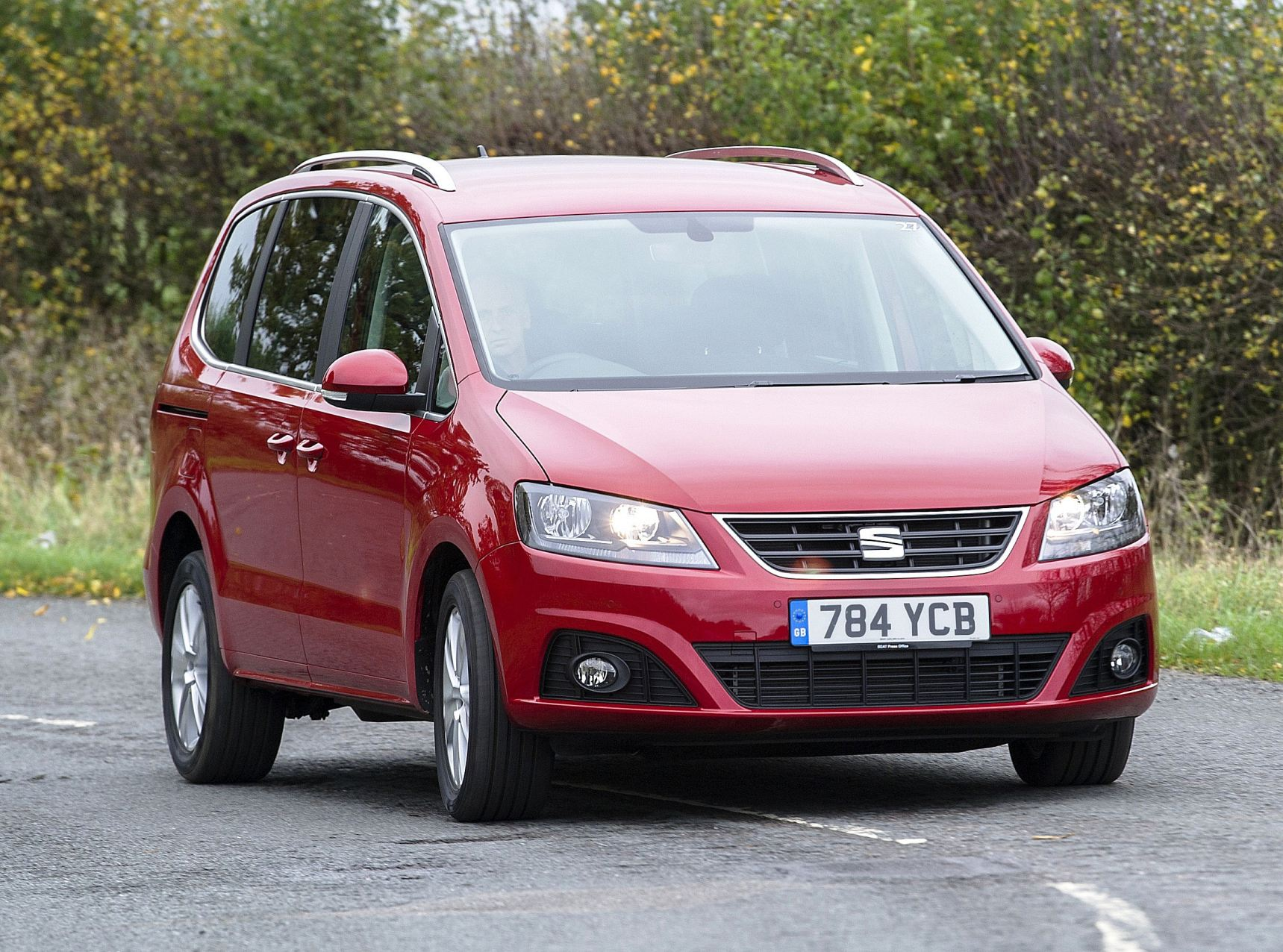 SEAT Alhambra front action