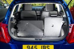 Suzuki Swift rear interior and load area copy