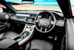 Range Rover Evoque Convertible front interior
