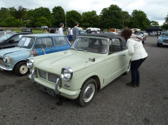 We nearly came home with this VERY smart Herald Convertible...