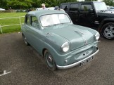 The 1950s Standard Eights were solid cars; this tidy example looked just right.