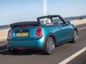 Mini Cooper Convertible rear side action copy