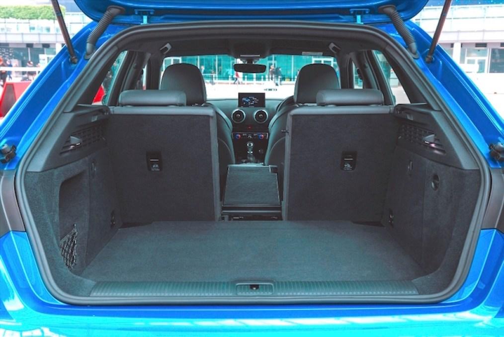 Audi A3 Sportback load area copy