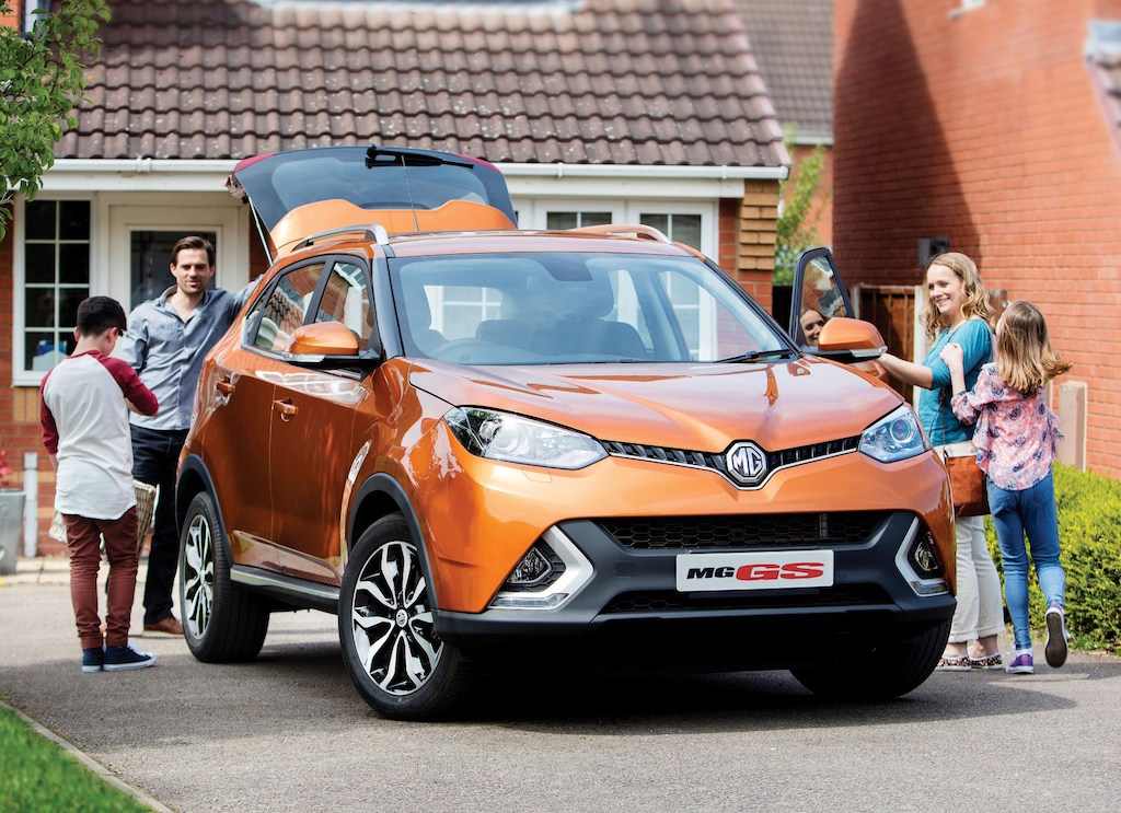 MG GS the new family mid sized Crossover.1 jpg copy
