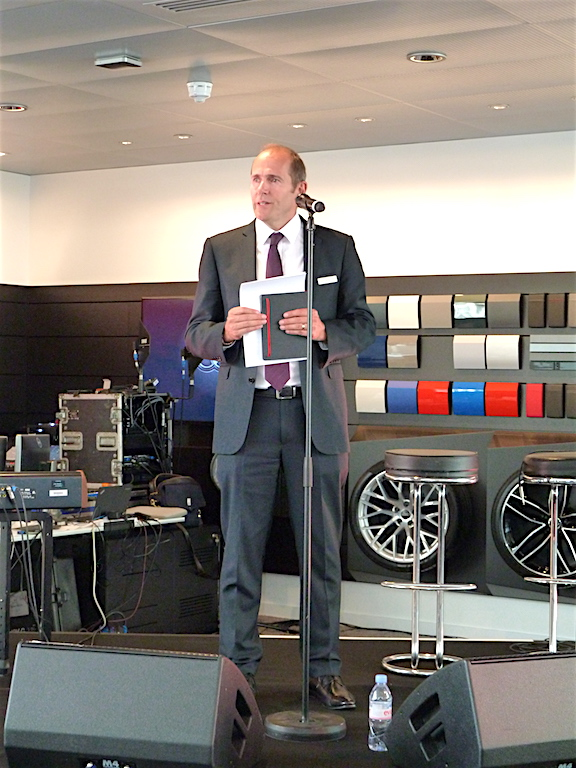 Mark Laming, Head of Business and a director of Poole Audi, spoke with enthusiasm about Poole Audi and its dedicated staff.