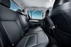 Toyota Hilux Double Cab rear three seats copy