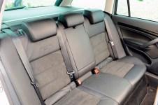 Skoda Octavia Scout Estate rear seats