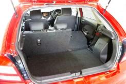 Suzuki Baleno spacious rear load area copy
